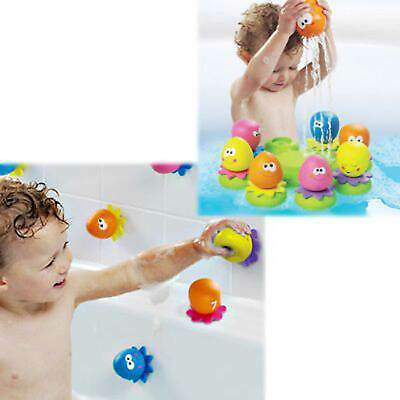 Tomy Octopals Floating Baby / Toddler / Child / Kids / Chuildrens Bath Toy Set