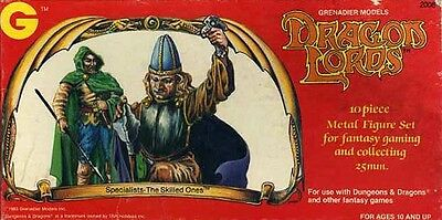 SPECIALISTS The Skilled Ones MINIATURES DRAGON LORDS  GRENADIER MODELS Dungeons