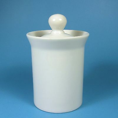 Dansk BOTTELET WHITE Sugar Bowl & Lid Japan