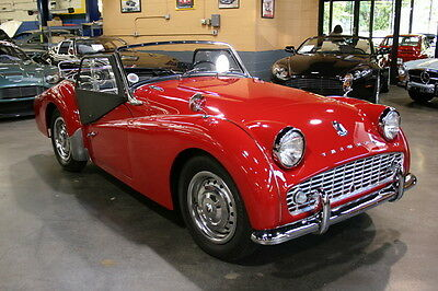 Triumph : Other TR3A ROADSTER **SPECTACULAR RESTORATION  **ONLY 2,500 MILES SINCE RESTORED