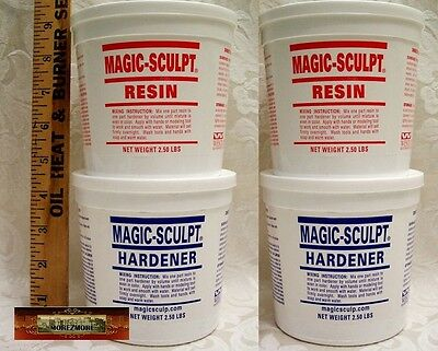 M02051x2 MOREZMORE 10 lb NATURAL Magic Sculpt Sculp Epoxy Clay Model Putty