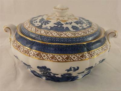 ROYAL DOULTON BOOTHS REAL OLD WILLOW VEGETABLE TUREEN - MINT