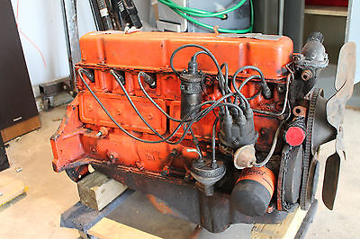 Chevy 194 ci 3.2L straight inline six cylinder I6 engine complete 1966 1967 Nova