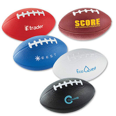 STRESS FOOTBALLS - 150 quantity - Custom Printed with Your Logo