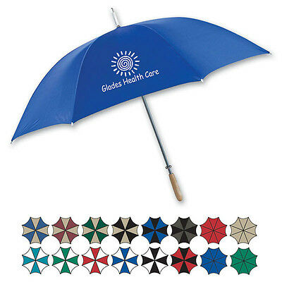 STICK UMBRELLAS - 25 quantity - Custom Printed with Your Logo