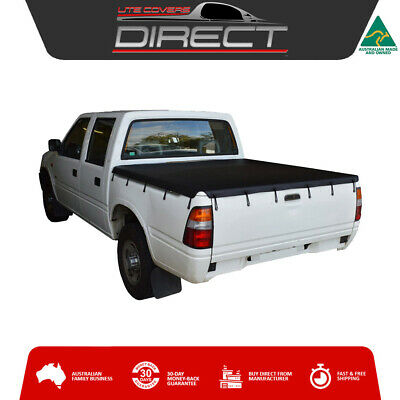 Holden Rodeo TF Dual Cab Ute (1997 to 2002) Bunji Loop Tonneau Cover Tarp
