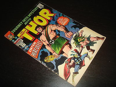 JOURNEY INTO MYSTERY #124  Hercules   Silver Age Thor Marvel Comics 1965 VG+