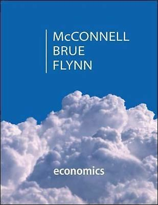 Economics  Brue, McConnell and Flynn (2014, Hardcover) LIKE NEW! Used 1 semester