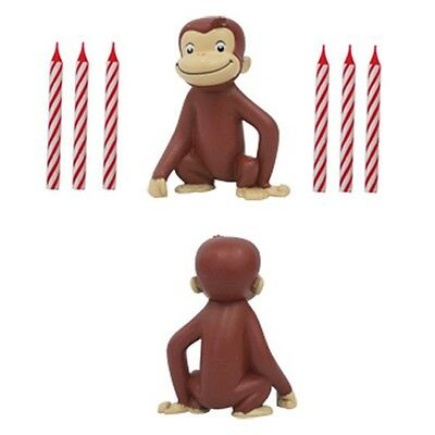 Curious George Happy Birthday Party Candles Decoration Kit
