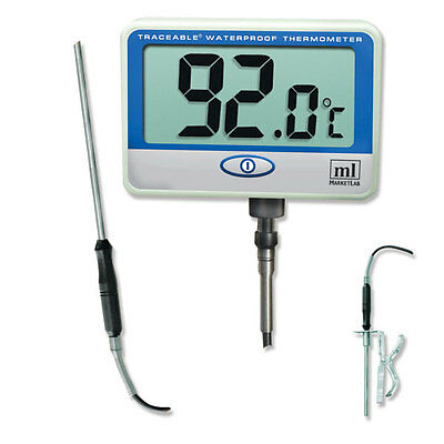 Traceable Extra, Extra Long Probe Thermometer Waterproof Thermometer 1 ea