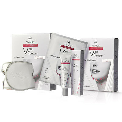 Anti Wrinkle Lift Face it works for chin up slimming 5 Masks wraps gel and Belt
