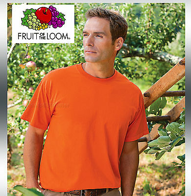 100 Fruit of the Loom T-SHIRTS BULK LOT in Colors or 120 White Plain S-XL 50/50