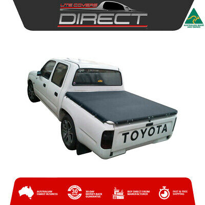 Toyota Hilux Dual Cab Ute (1998 to March 2005) Stretch Cord Tonneau Cover Tarp