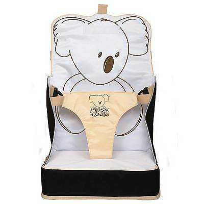 Pipsy Koala On the Go Child Booster Seat - Wipe Clean, Light, Portable, Feeding