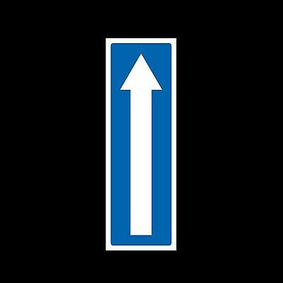 Arrow up Plastic Sign or Sticker - All Sizes & Materials - Direction Sign