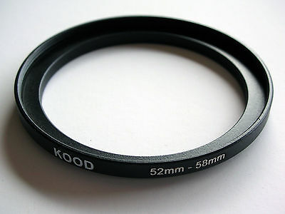 Step Up Adapter 52Mm - 58Mm Stepping Ring 52 To 58Mm 52-58 Step Up Ring