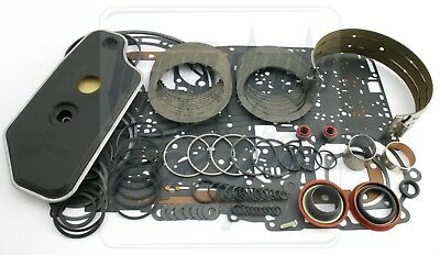 Ford A4LD Transmission Overhaul Less Steel Rebuild Kit 1990-95 Level 2 W/ Band