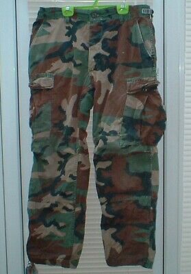 German Army Flecktarn Combat Trousers Not Issued And Grade One