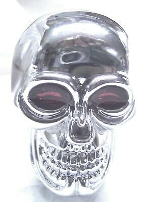 gear shift knob skull red eye chrome plated for Peterbilt Kenworth Freightliner