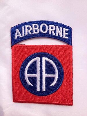 WW2 US Army 82ND Airborne Division Paratrooper Shoulder Patch Badge - US018