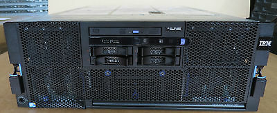 IBM X3850 M2 4 x SIX-CORE XEON E7450 2.4GHz 128GB RAM 4 x 72Gb Rack Mount Server