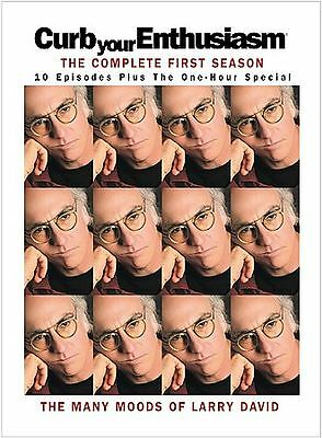 Curb Your Enthusiasm: The Complete First Season (DVD, 2004, 2-Disc Set, Digi-Pac