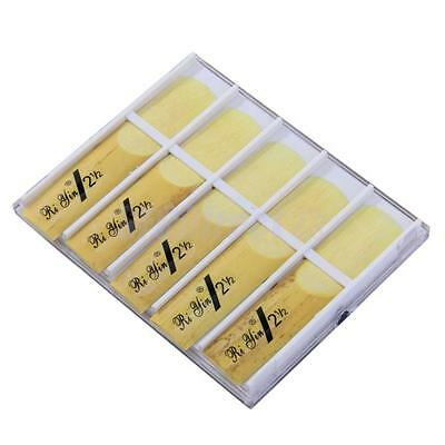 Pack of 10pcs 2 1/2 bE Alto Sax Saxophone Reeds Strength 2.5 Reed High Quality