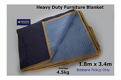 Furniture Moving Storage Removalist Blanket/Pad Heavy Duty Woven 3.4 x 1.8