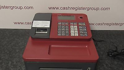NEW CASIO SE-G1 SD-B RED CASH REGISTER SHOP TILL THERMAL & Telephone Support