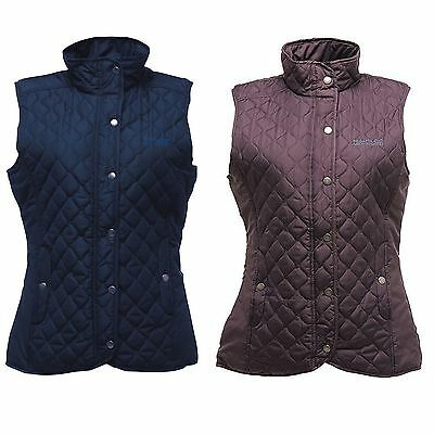 Regatta Buntie Ladies Bodywarmer womens quilted padded waistcoat Gilet