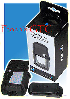 NEW GARMIN OEM CARRYING CASE for eTrex 10 20 30 with belt clip - 010-11734-00