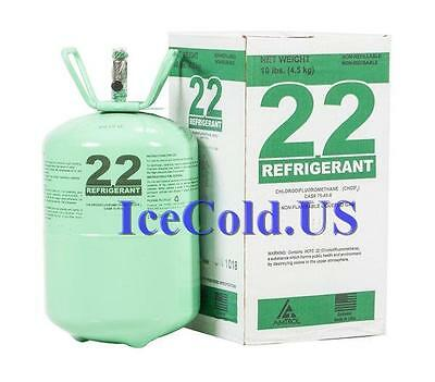 R-22  REFRIGERANT   10lbs.   NEW / SEALED  R22 10 lb  Lowest Price on E-BAY