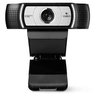 Logitech C930e 1080p 90 degrees PC & MAC Webcam Skype MSN Full HD USB