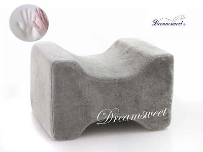 Knee Hip Alignment Memory Foam Leg Pillow Aid for Side Sleepers, Dreamsweet A6GX