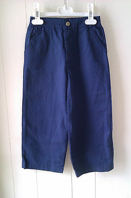 Gorgeous Navy Blue Chino Style Trousers from Hamilton, Age 4 yrs - BNWT!!