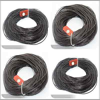 Wholesale 100M Top Genuine Leather Cord Thread For Diy Bracelets Necklace