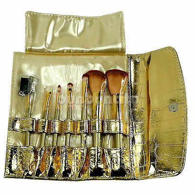 Fashion Gorgeous 7 pcs Cosmetic makeup brushes portable set with holder (S7G)