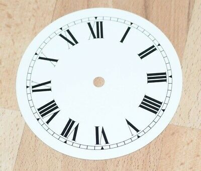 NEW clock dial 6 inches 152mm aluminium Roman numerals  dials parts clocks