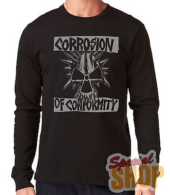 "Camiseta Manga Larga""corrosion Of Conformity""long Sleeve"