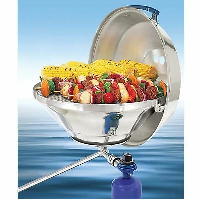 Magma Marine Kettle Gas Grill Hinged Lid - Party Size