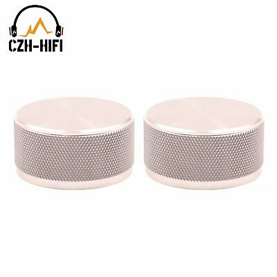 44*22mm solid aluminum rotary knob for amplifier potentiometer volume control,