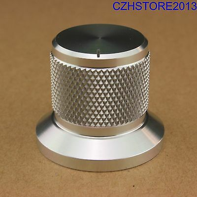1PC 30*25mm Solid Aluminum Tube Amplifier DAC CD Turntable Potentiometer Knob