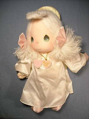 """PRECIOUS MOMENTS 1985 APPLAUSE 14"""" ANGEL DOLL #4569 W/LOCKET """"THE LORD IS GOOD"""""""