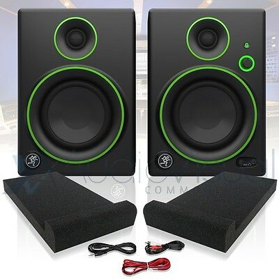 "Mackie CR4 Active 4"" Creative Reference Multimedia Studio Monitors PAIR CR-4"