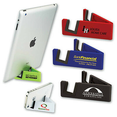 MEDIA STAND / PHONE HOLDER - 150 quantity - Custom Printed with Your Logo