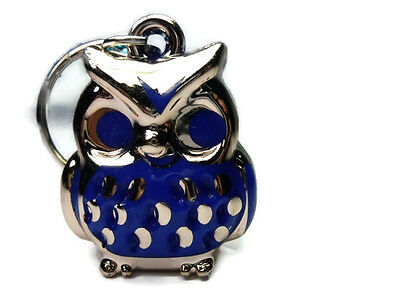 LITTLE KEYRING KEYCHAIN OWL BIRD DOLL TOY HANDMADE GIFT COLLECTIBLE CUTE ART PET
