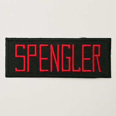 """GHOSTBUSTERS - Large Size - """"SPENGLER"""" Team Name Patch - Harold Ramis - NEW"""