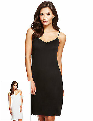 Ex Store Anti Static Slinky V Neck Full Slip