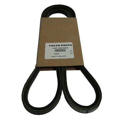 Volvo Penta New OEM V-Belt, 3853368