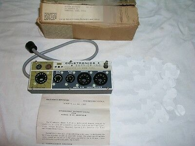 Coletronics B-16 B16 Tube Tester Socket Adapter- in Original Shipping Box